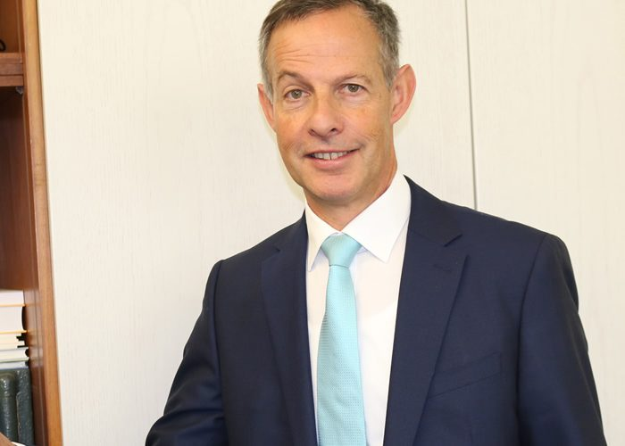 Oberbürgermeister Udo Bausch beim Amtsantritt am 02.01.2018