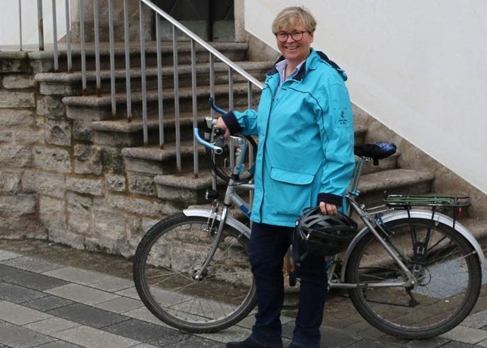 Brit Scherer ist neue Rüsselsheimer Radverkehrsbeauftragte