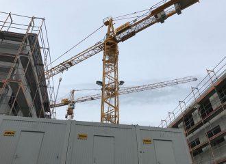 In Rüsselsheim am Main wird gebaut.