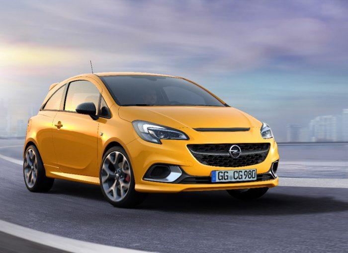 Scharf, schärfer, GSi: Der neue Opel Corsa GSi verspricht schon mit seinem charakteristischen Design in Rennoptik puren Fahrspaß.