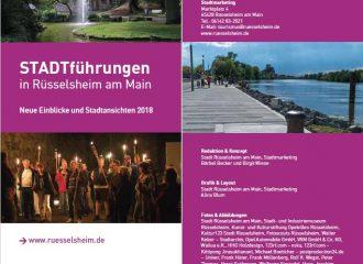 """""""STADTführungen 2018 in Rüsselsheim am Main"""