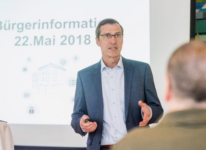 Stadtwerke-Geschäftsführer Hans-Peter Scheerer