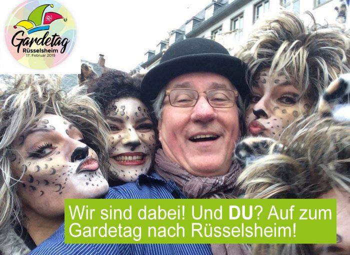 Rüsselsheimer Gardetag 2019 / #Zugblogger Achim Weidner