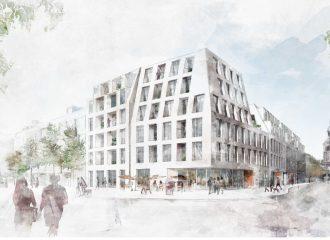 Ehemaliges Karstadt Areal/Neubauplanung am Friedenplatz