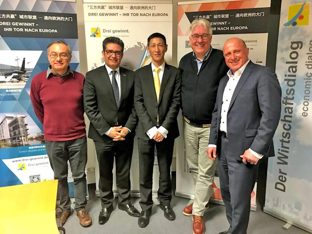 Teilnehmer der zweiten Gesprächsrunde über den Stand der Digitalisierung in Rüsselsheim