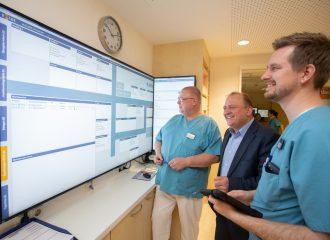 Notaufnahme des GPR Klinikums führt neues softwaregestütztes Management-System ein