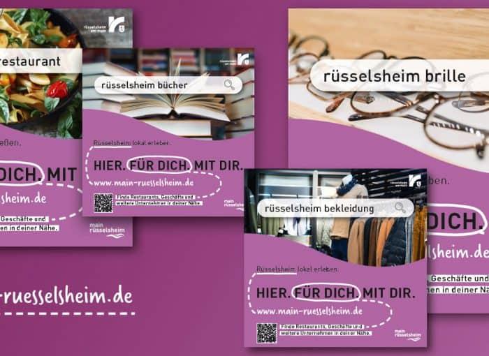 Das Unternehmensportal auf der Internetseite www.main-ruesselsheim.de