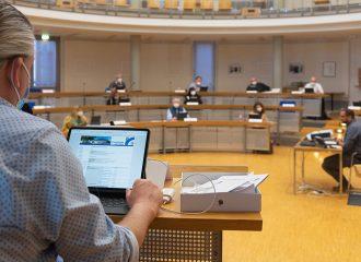 Digitalisierung der Gremienarbeit in Rüsselsheim